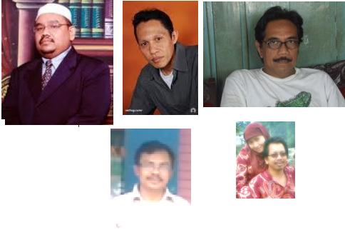 Om Jay, Yulef Dian, Thamrin Sonata, Asep Ading, DR. Hidayat & Theeadomo